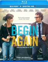 Cover image for Begin again [videorecording (Blu-ray)]