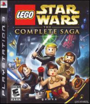 Cover image for Lego Star wars. The complete saga [electronic resource (video game)].