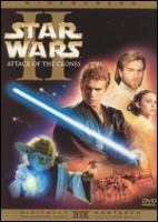 Cover image for Star wars. Episode II, Attack of the clones [videorecording (DVD)]