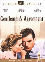 Cover image for Gentleman's agreement [videorecording (DVD)]