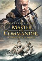 Cover image for Master and Commander [videorecording (DVD)] : the Far Side of the World