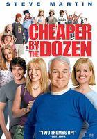 Cover image for Cheaper by the dozen [videorecording (DVD)]