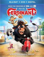 Cover image for Ferdinand [videorecording (Blu-ray)]