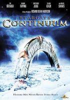 Cover image for Stargate. Continuum [videorecording (DVD)]