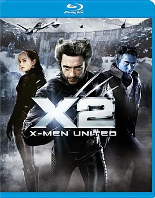 Cover image for X2 [videorecording (Blu-ray)] : X-Men united