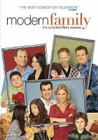 Cover image for Modern family. The complete first season [videorecording (DVD)]