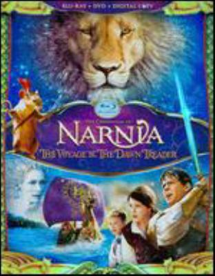 Cover image for The Chronicles of Narnia. The voyage of the dawn treader [videorecording (Blu-ray)]