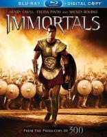 Cover image for Immortals [videorecording (Blu-ray)]
