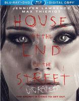 Cover image for House at the end of the street [videorecording (Blu-ray)].