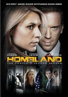 Cover image for Homeland. The complete second season [videorecording (DVD)]