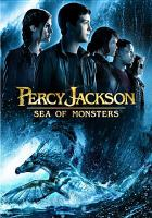 Cover image for Percy Jackson [videorecording (DVD)] : sea of monsters