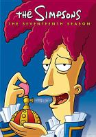 Cover image for The Simpsons. Seventeenth season [videorecording (DVD)]