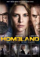 Cover image for Homeland. The complete third season [videorecording (DVD)]