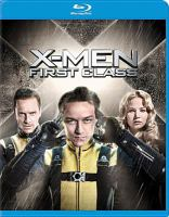 Cover image for X-men first class [videorecording (Blu-ray)]