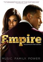 Cover image for Empire. The complete first season [videorecording (DVD)]