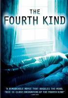 Cover image for The fourth kind [videorecording (DVD)]