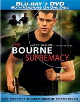 Cover image for The Bourne supremacy [videorecording (Blu-ray)]