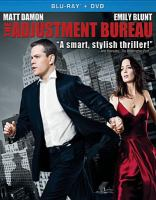 Cover image for The adjustment bureau [videorecording (Blu-ray)].