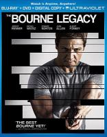 Cover image for The Bourne legacy [videorecording (Blu-ray)]