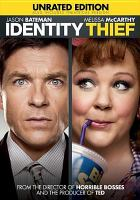 Cover image for Identity thief [videorecording (DVD)]