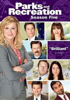 Cover image for Parks and recreation. Season five [videorecording (DVD)].