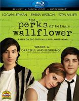 Cover image for The perks of being a wallflower [videorecording (Blu-ray)]