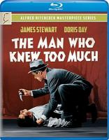 Cover image for The man who knew too much [videorecording (Blu-ray)]