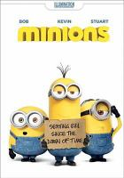 Cover image for Minions [videorecording (DVD)]