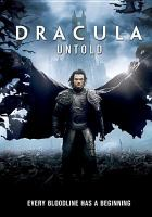 Cover image for Dracula untold [videorecording (DVD)]