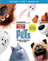Cover image for The secret life of pets [videorecording (Blu-ray)]