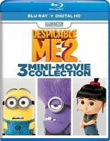 Cover image for Despicable me 2 [videorecording (Blu-ray)] : 3 mini-movie collection.