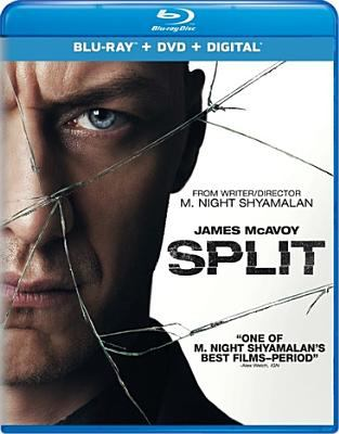 Cover image for Split [videorecording (Blu-ray)]