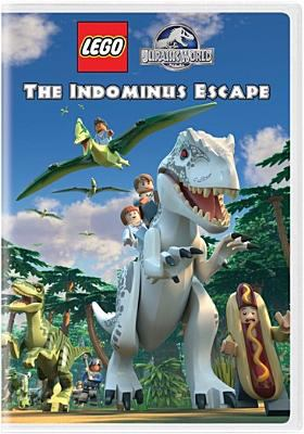 Cover image for LEGO Jurassic world [videorecording (DVD)] : The Indominus escape.