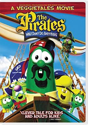 Cover image for The pirates who don't do anything [videorecording (DVD)] : a VeggieTales movie