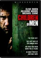 Cover image for Children of men [videorecording (DVD)]