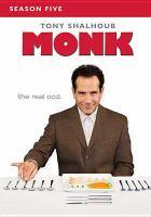 Cover image for Monk. Season five [videorecording (DVD)]