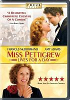 Cover image for Miss Pettigrew lives for a day [videorecording (DVD)]