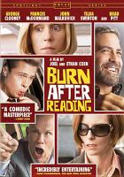 Cover image for Burn after reading [videorecording (DVD)]