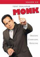 Cover image for Monk. Season six [videorecording (DVD)]