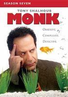 Cover image for Monk. Season seven [videorecording (DVD)]