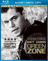 Cover image for Green zone  [videorecording (Blu-ray)]