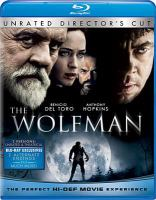 Cover image for The wolfman [videorecording (Blu-ray)]
