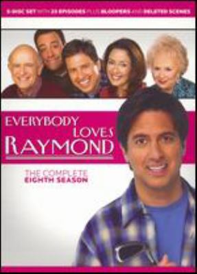 Cover image for Everybody loves Raymond. The complete eighth season [videorecording (DVD)]