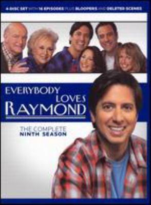 Cover image for Everybody loves Raymond. The complete ninth season [videorecording (DVD)]
