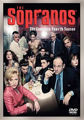 Cover image for The Sopranos. The complete fourth season [videorecording (DVD)]