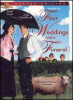 Cover image for Four weddings and a funeral [videorecording (DVD)]