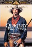 Cover image for Quigley down under [videorecording (DVD)]