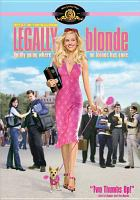 Cover image for Legally blonde [videorecording (DVD)]