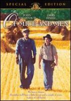 Cover image for Of mice and men [videorecording (DVD)]