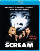 Cover image for Scream [videorecording (Blu-ray)]
